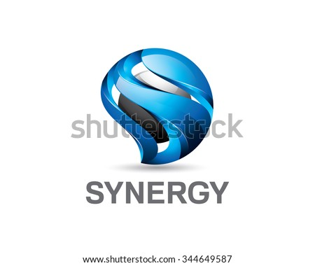 3D letter S logo design. Colorful  3D letter S logo vector template. Letter S concept with 3D style design vector.