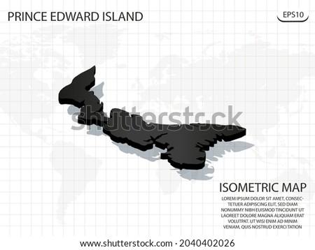 3d map black of prince edward