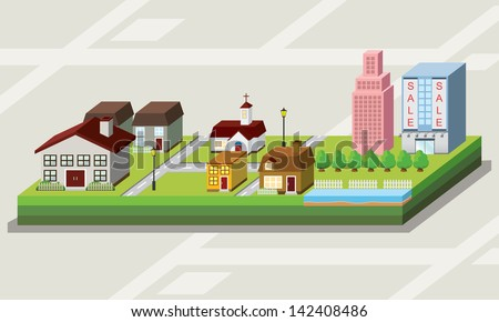 free clip art cartoon 4 unit houses small house interior design u2022 rh sweetthangs co