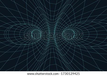 3d mesh surface digital tunnel