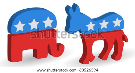 3d political democrat and