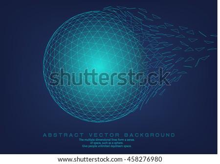 3d polygon mesh sphere ...