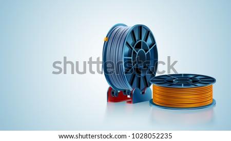 3d printing filament spool or