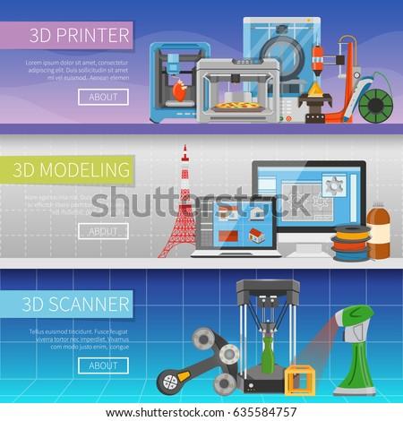 3d printing horizontal banners