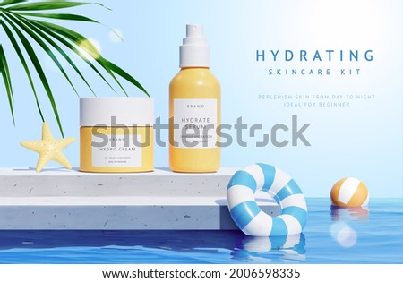 3d product display scene for
