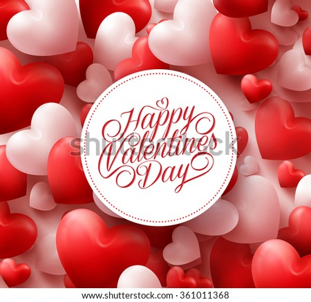 Happy Valentines Day Background - Download Free Vector Art, Stock ...