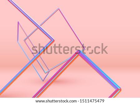 3d rectangle shape objects