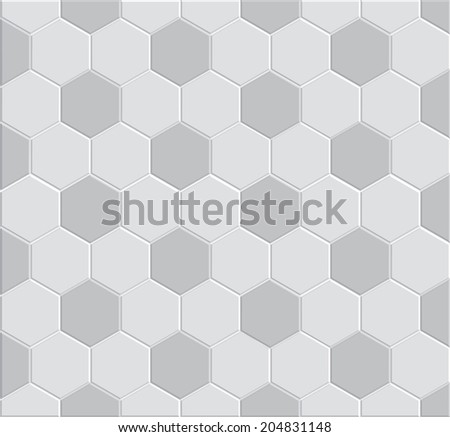 3d soccer pattern for decoration and design tile floor, pathway clay brick stone