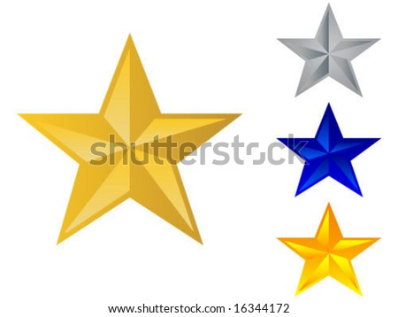 3d star illustration
