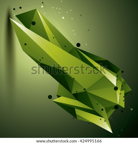 3d vector abstract design
