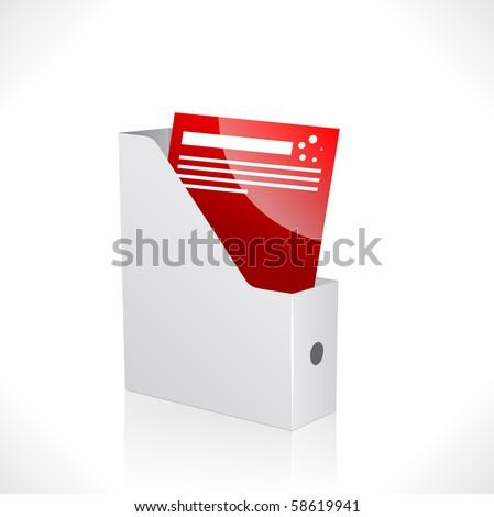 3d vector folder
