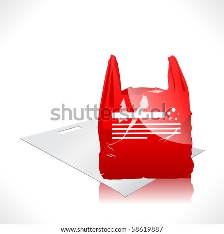3d Vector Plastic Bag - 58619887 : Shutterstock