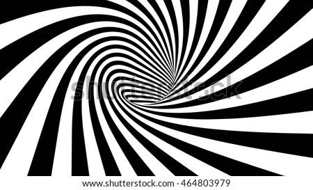 3d vector striped spiral