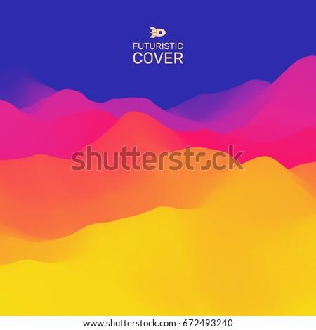 3d wavy background dynamic