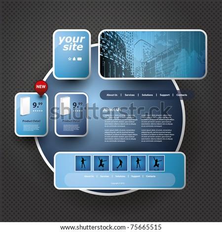 3D Website Template