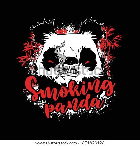 dangerous panda smoke