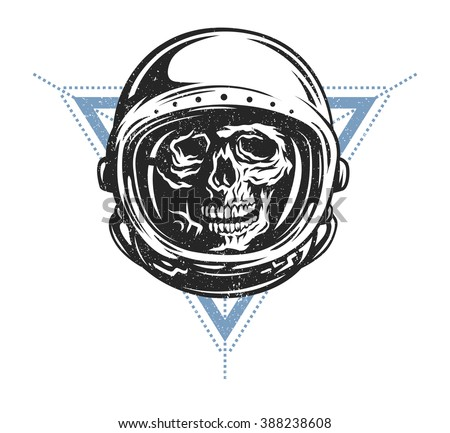 dead astronaut in spacesuit