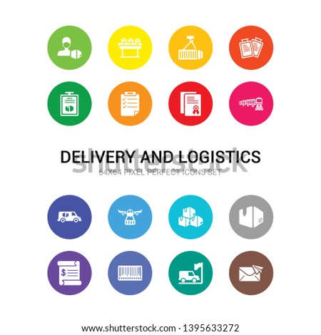 16 delivery and logistics