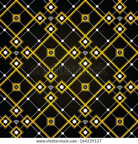 diamond gold wallpaper gatsby style. feel the old new york