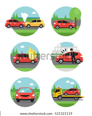 different car accidents types