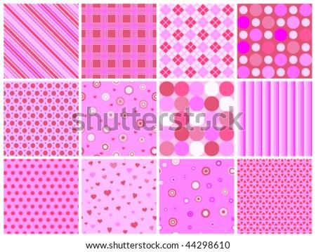 12 different pink valentine