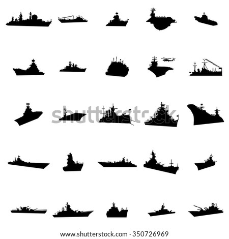 25 different warships