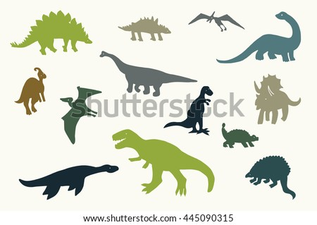 dinosaurs graphic vector
