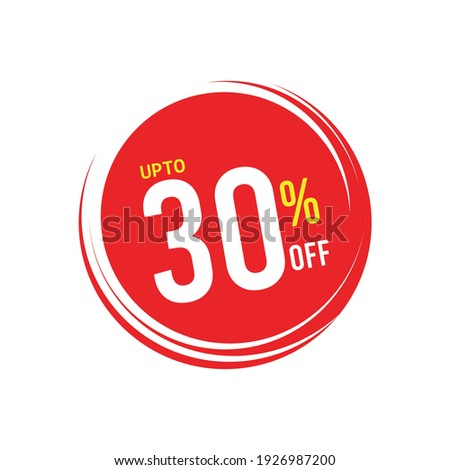 30% Discount Icons,30% Discount Vector, up to 30% off