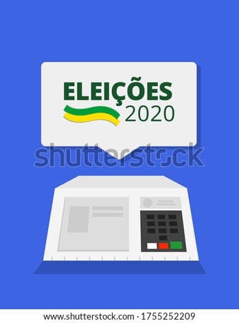2020 Elections - Brazil Electronic ballot box