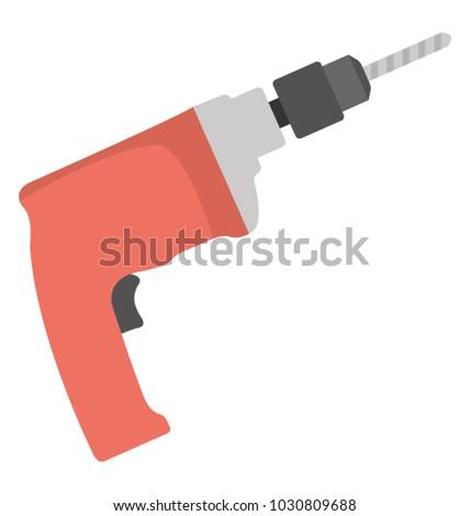 Electric handheld drill machine