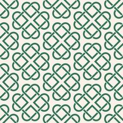 Сeltic pattern on light background. Texture. Ornament. Four-leaf clover.