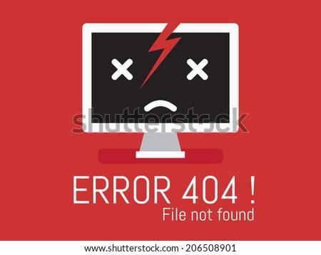 error 404 desktop not found