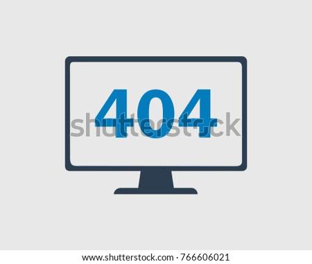 404 error or not found  icon