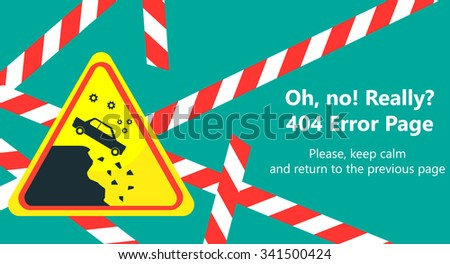 royalty free stock photos and images 404 error page vector template