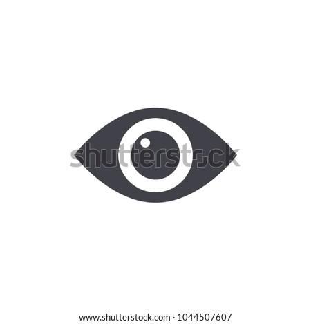 eye icon vector EPS10