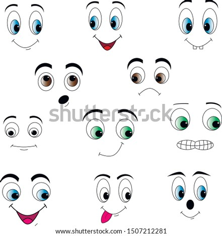 eyes of different colors smileys smiles