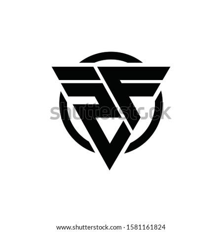 2f f2 triangle logo circle