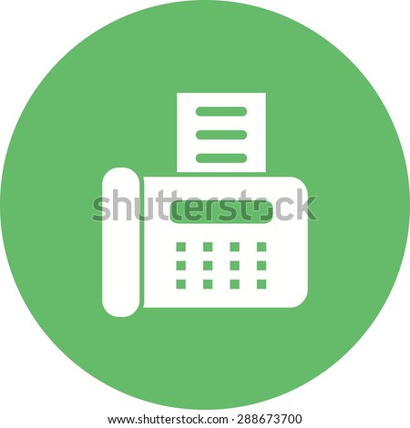 can a fax machine be used the
