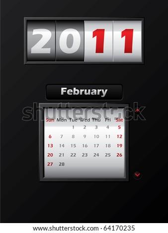 calendar february 2011. calendar for February 2011
