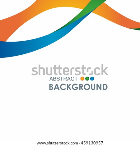 2018 February Winter Olympic Games abstract colorful background.