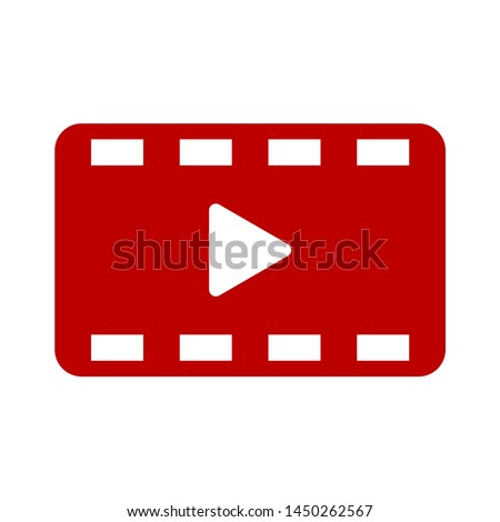 film reel  icon. Logo element illustration.    film reel  symbol design. colored collection.  film reel concept. Can be used in web and mobile