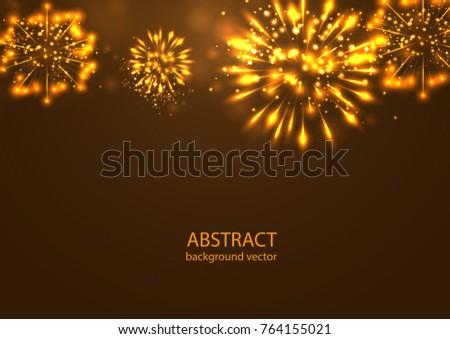 fireworks on twilight
