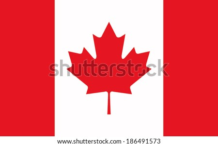 flag canada vector background