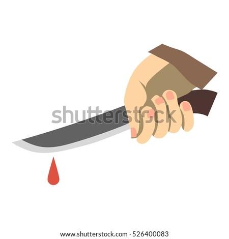 flat illustration of hand