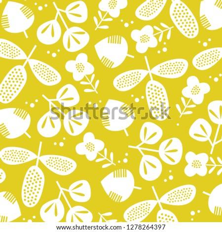 flora pattern. Flora wallpaper vector