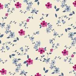 Floral background for textiles. Liberty style. fabric, covers, manufacturing, wallpapers, print, gift wrap.