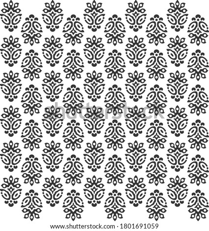 flower buti pattern design for fabric print and texture or background use and also tiles Zdjęcia stock ©