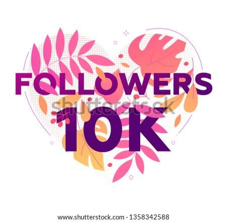 10 000 followers banner