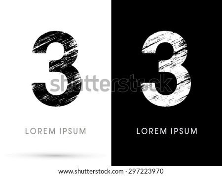 3  font grunge destroy  graphic