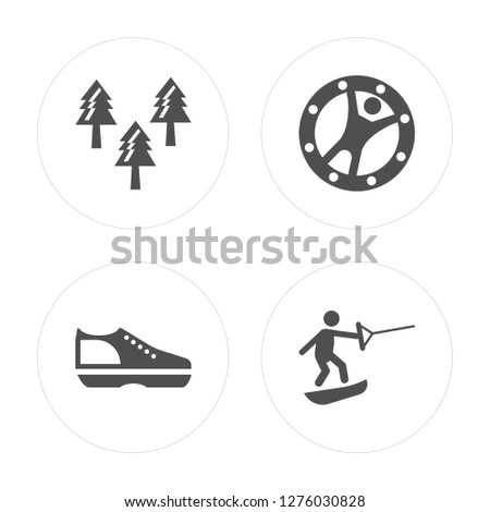 4 forest  shoes  zorbing